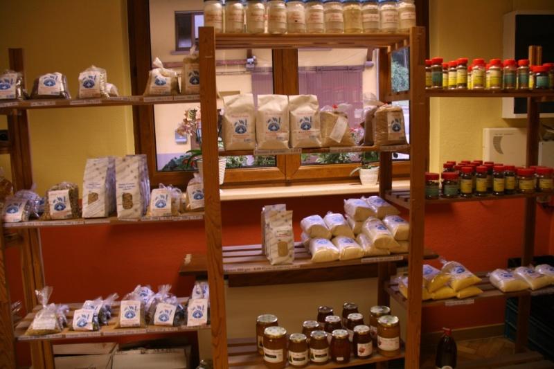 Produits disponibles dans le magasin du Moulin du Kronthal